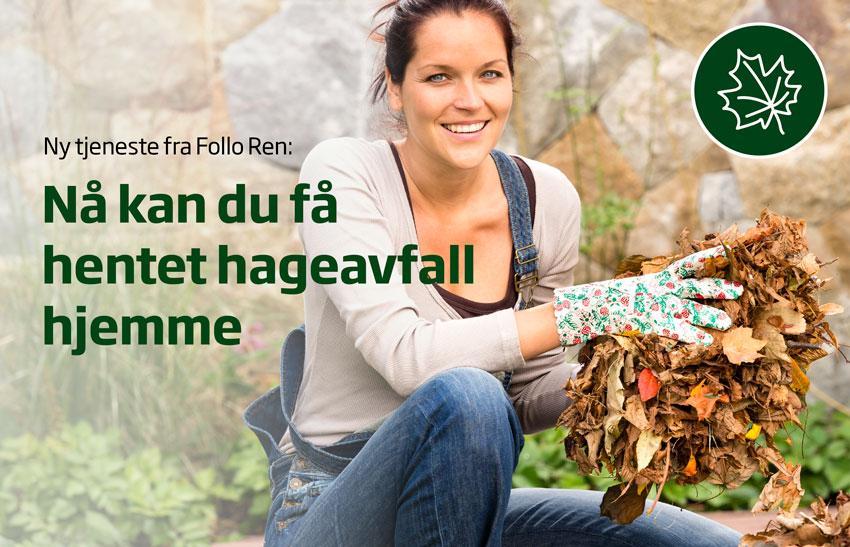Bestill henting av hageavfall